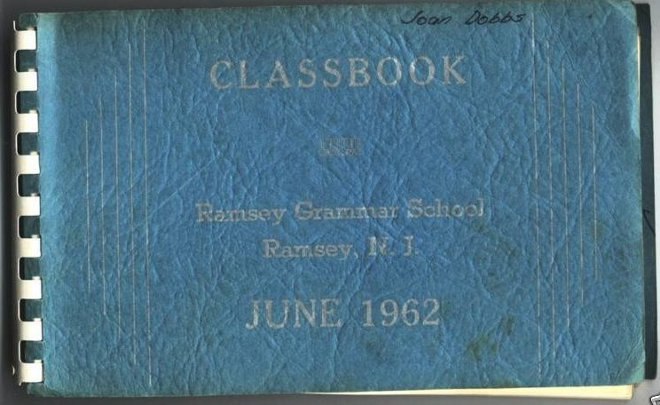 Class Book for Ramsey Grammar School, 1962