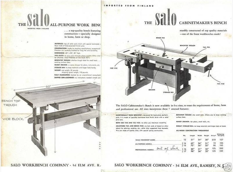 Salo Workbench Company